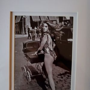 Cindy Crawford Vogue Print
